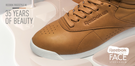 reebok face stockholm freestyle sneakers Une