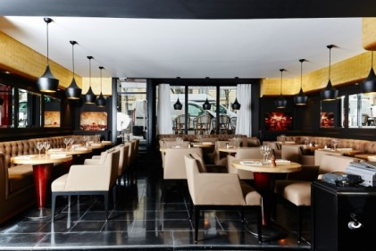 restaurant vingt  georges V paris lougne bar