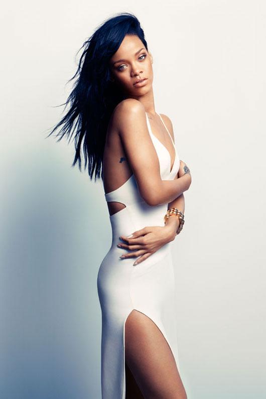 rihanna-harpers-us-3 Rihanna en couv' d'Harper's Bazaar US par Camilla Akrans