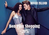 River Island : -20% de réductions sur tout le site