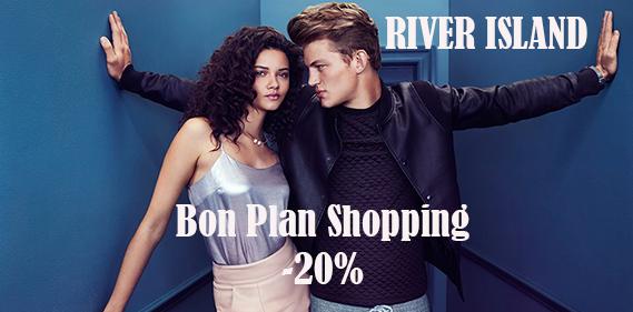river island promo flash Une