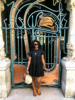 robe prettylittlething freywille marc jacobs outfit paris