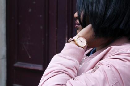 rose josephine sac bomber rose stradivarius freywille bracelet