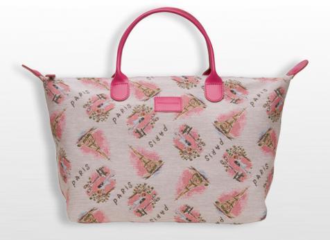 sac a main bagage la vie en rose pierre et la louve