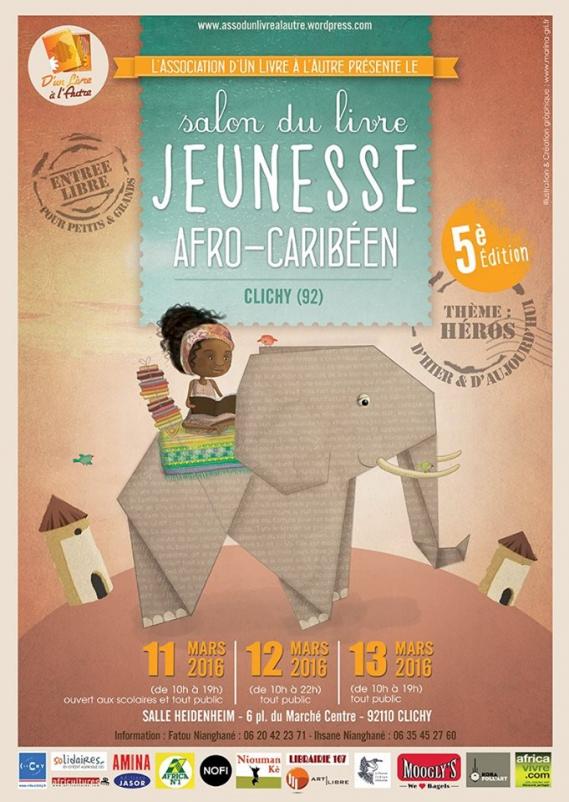 salon-du-livre-jeunesse-afro-carriben-clichy-2016 5ème Salon du livre jeunesse Afro-Caribéen à Clichy
