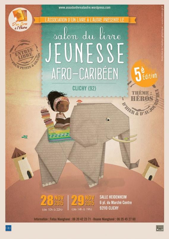 salon-du-livre-jeunesse-afro-carriben-clichy 5ème Salon du livre jeunesse Afro-Caribéen