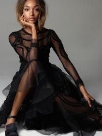 selection robe fete  jourdan dunn