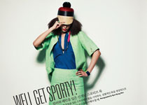 Ji Hyun Jeong pour Singles Korea mars 2012