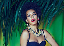 Solange Knowles pour The Evening Standard