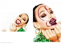 Solange Knowles par Ellen von Unwerth pour Lurve Magazine