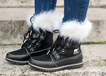 sorel joan of artic fur boots forever  teddy bear coat camouflage walking on a cloud Home