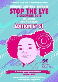 stop the lye cheveux afro enfants paris