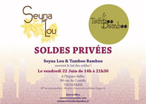 Soldes Privées Seyna Lou et Tamboo Bamboo