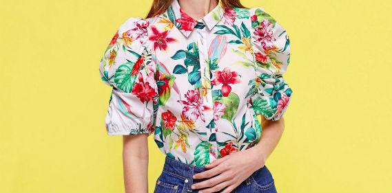 tendance chemises printemps volant epaules off the shoulders Une