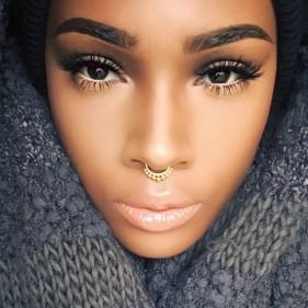 tendance mode piercing septum