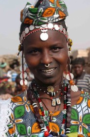tendance mode piercing septum Afrique