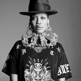 tendance mode piercing septum Erykah Badu