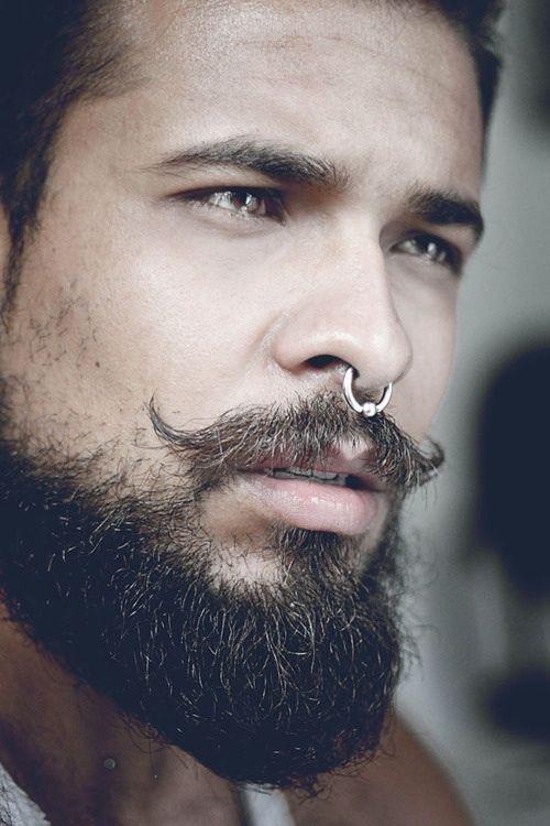 tendance-mode-piercing-septum-Homme Piercing au septum : Le nouvel accessoire en vogue