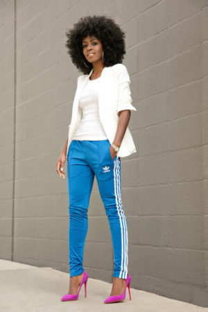 tendance pantalon jogging adidas trackpants stylepantry