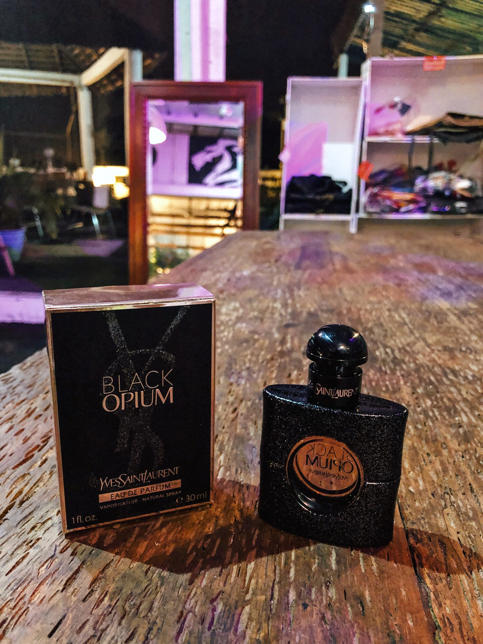 tendance parfums parfum black opium yves saint laurent