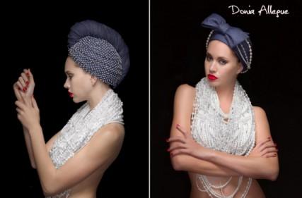 theforwomenshow Turbanista Donia Allegue collection