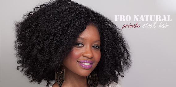 Timodelle Magazine Review of Fro Natural hair extension by Private Stock Hair