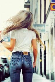 timodelle tshirt jeans