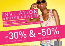 Ventes Privées New Look : Imprimez vite votre invitation Timodelle !
