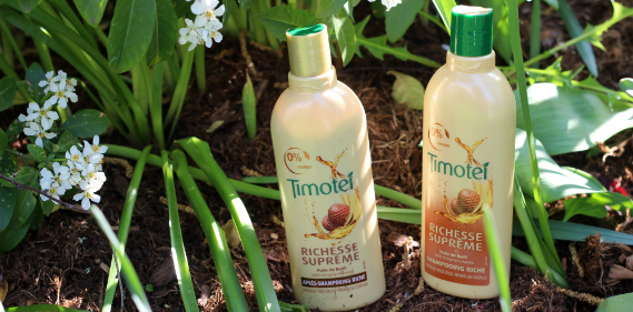 timotei richesse supreme shampoing cheveux secs frises crepus Une
