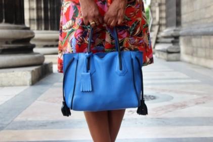 tropical chic dress