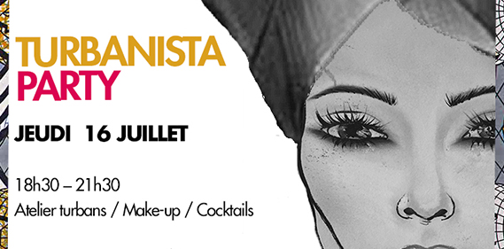 turbanista party make up for ever academy Une