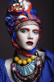 turbanista party make up for ever academy luxe