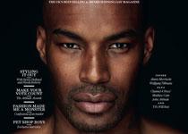 Tyson Beckford en couv' d'Attitude Magazine Septembre 2012