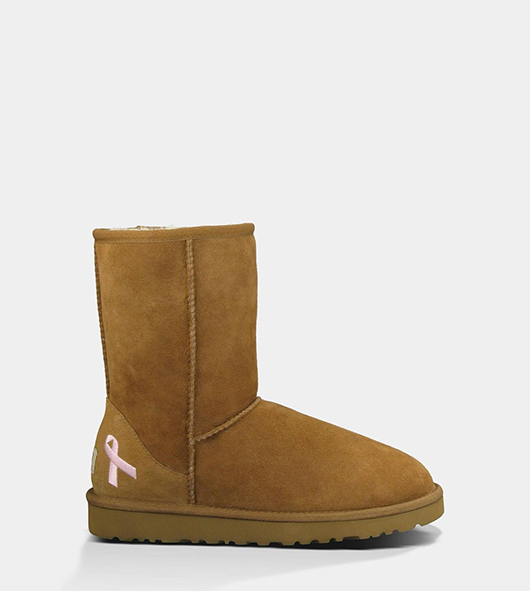 ugg australiaCLASSIC SHORT BREAST CANCER AWARENESS