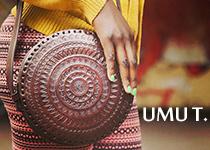 Sac en cuir Umu T. : Différent, Ethnique & Ethique