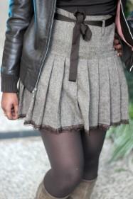 vintage brown veste cuir bali barret ebarrito