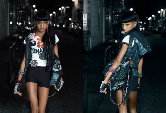Willow Smith par Karl Lagerfeld pour V Magazine