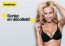 Wonderbra lance la 1ère Journée du Décolleté en France