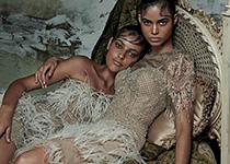 Colombina Gotica par Zee Nunes pour Vogue Brazil février 2014